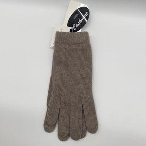 Portolano Cashmere Gloves New nile brown